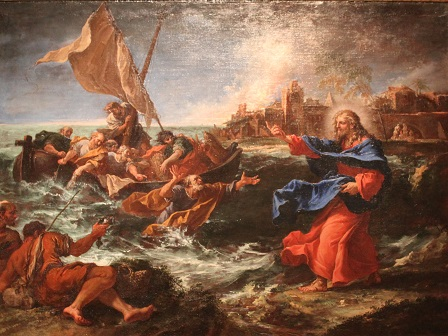 Sebastiano Ricci, The miraculous draught of fishes (1695)