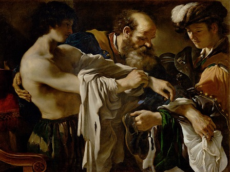 Guercino, Return of the Prodigal Son, 1619